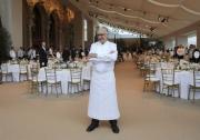 Chef Alain Ducasse prepares to celebrate the 25th anniversary of his beloved restaurant.