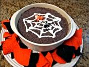 Halloween Black Bean Dip