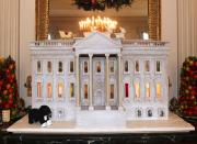 White House Christmas Gingerbread House
