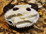 Halloween Cupcakes (Mummy Mouse Cupcakes)