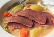 Corned Beef With Cabbage And Coconut Milk