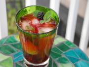 Blackberry Balsamic Mojitos