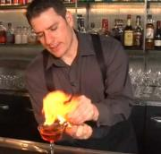 Flamed Citrus Peel for Cocktails