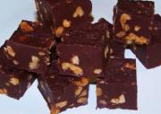 Gluten Free Walnut Chocolate Fudge
