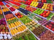 Very bright and colorful fruits and vegetables are certainly not fresh - they are the result of powerful chemicals sprayed on them