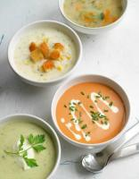 Eating soups to lose weight