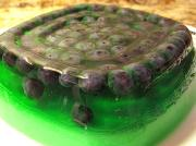 Mint Gelatin For Fruit Salads