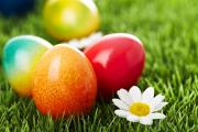 Easter Eggs with natural dyes