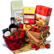 strawberry gift basket
