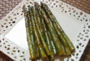 Salty - Sour Grilled Asparagus