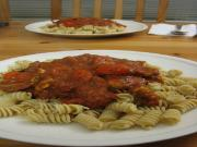 Pasta with Mushroom Bolognese