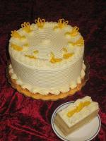 Golden Saffron Cake