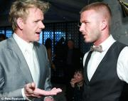 Gordon Ramsay and Beckham