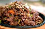 Bulgogi is the quintessential Korean marinated beef dish