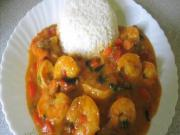 Shrimp with Coconut (Encocado)