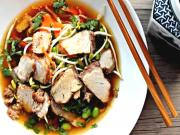 Roasted Pork Ribs in a Fragrant Broth