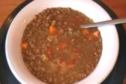 Post Holiday Lentil Soup