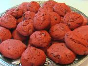 Betty's Red Velvet Chocolate Chip Cookies -- Valentine's Day