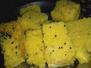 Homemade Dhokla