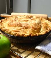 How to store apple pie
