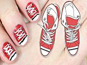 Shoe Nail Art