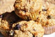 Blueberry Bran Yogurt Muffins
