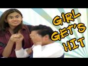 Hidden Camera Pranks - Girl Gets Hit Prank : Prank Attacks