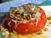 Meat Filled Tomatoes