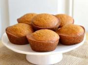Pumpkin Sugar Cube Muffins