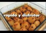 Patatas Asadas Y Cebolla
