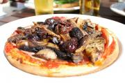 Olive Anchovy Topped Pizza Napoletana
