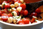 Beefsteak Tomato, Bocconcini And Balsamic Stuffed Pita