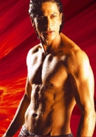 SRK's famous six packs