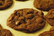 Chocolate-Cheese Drop Cookies