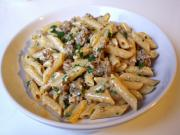 Pasta With Sausage And Mustard Sauce