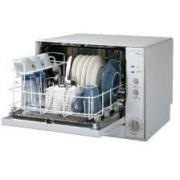 Danby dishwasher for portability.