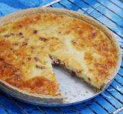Quiche Lorraine Flavored With Nutmeg