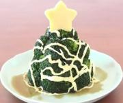 Homemade Christmas Broccoli Tree