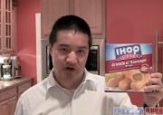 IHOP Frozen Food Griddle N' Sausage Wraps Review