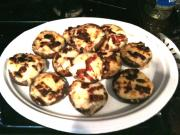 Bacon & Nuts Stuffed Mushrooms