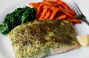 Easy Herb Crusted Salmon