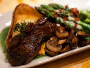 Coco Cola Braised Beef Ribs with Mushroom and Vegetables