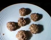 Crunchy Peanut Butter Candy Balls