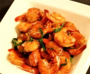 Stir Fry Shrimp & Wild Rice