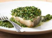 Crusty Broiled Halibut