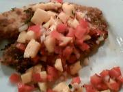 Mango Salsa and Crispy Fish
