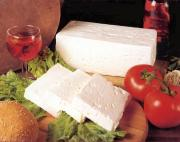 The crumbly, delicious and strong flavored feta cheese
