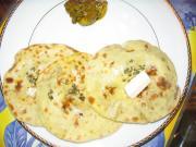 Tandoori stuffed aloo paratha by Chef Sonali