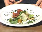 Chicken Piallard with a Summer Salad