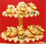 Easter Lamb Cupcake Ideas